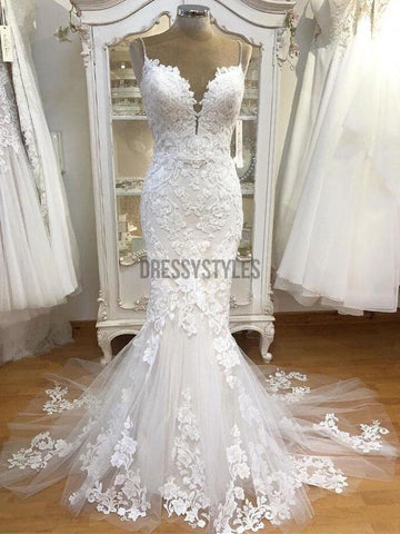 products/Spaghetti_Strap_Lace_Mermaid_Tulle_Applique_Ivory_Wedding_Dresses.jpg