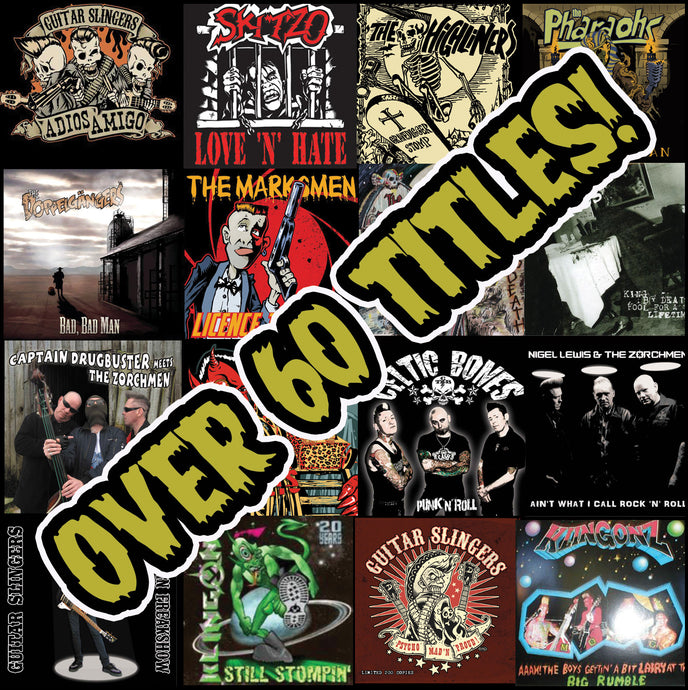 Psychobilly Music offer