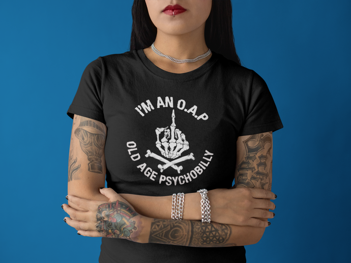 O.A.P girlies Anvil T-Shirt - The Wrecking Pit | Psychobilly Clothing | Psychobilly Bands
