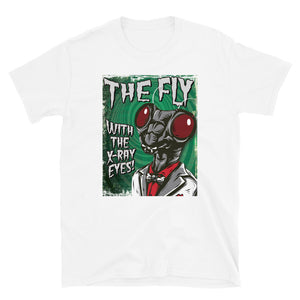 The Fly with the X-Ray Eyes - Short-Sleeve Unisex T-Shirt