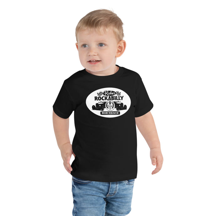 Ritchies Rockabilly Kid - Toddler Short Sleeve Tee - The Wrecking Pit | Psychobilly Clothing | Psychobilly Bands