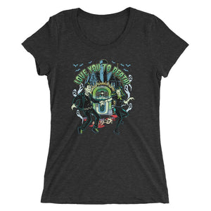 Love you to death Ladies' short sleeve t-shirt - The Wrecking Pit
