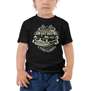 Rockabilly KId - Toddler Short Sleeve Tee - The Wrecking Pit | Psychobilly Clothing | Psychobilly Bands