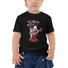 Load image into Gallery viewer, Slapbass Psycho Toddler Short Sleeve Tee