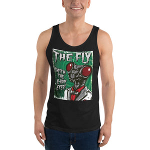 The Fly with the X-Ray Eyes - Unisex Tank Top