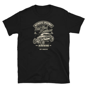 Hot Rod Kustoms - Short-Sleeve Unisex T-Shirt - The Wrecking Pit | Psychobilly Clothing | Psychobilly Bands