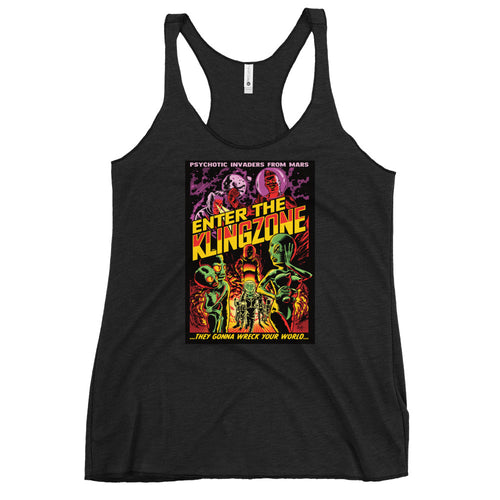Enter The Klingzone Women's Racerback Tank