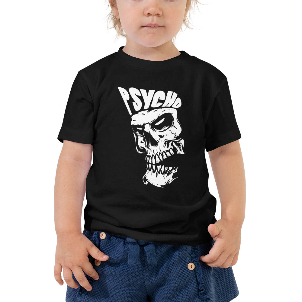 Psycho- Toddler Short Sleeve Tee - The Wrecking Pit | Psychobilly Clothing | Psychobilly Bands