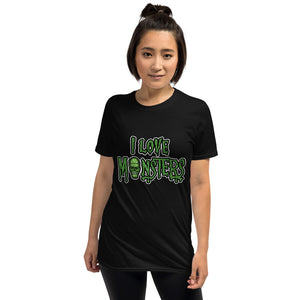 I love Monsters Short-Sleeve Unisex T-Shirt