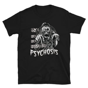 lockdown a-billy Psychoisis Short-Sleeve Unisex T-Shirt