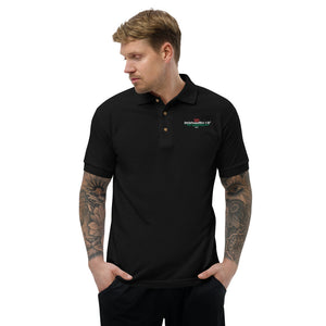 Psychobilly Wales Embroidered Polo Shirt