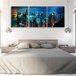 Tablou Canvas - New York Lights - Tablomag