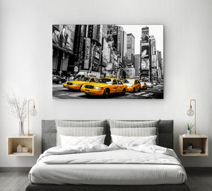 Tablou Canvas - [One Time Deal] New York Cabs - Tablomag