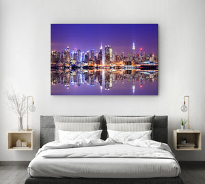 Tablou Canvas - Purple View - Tablomag