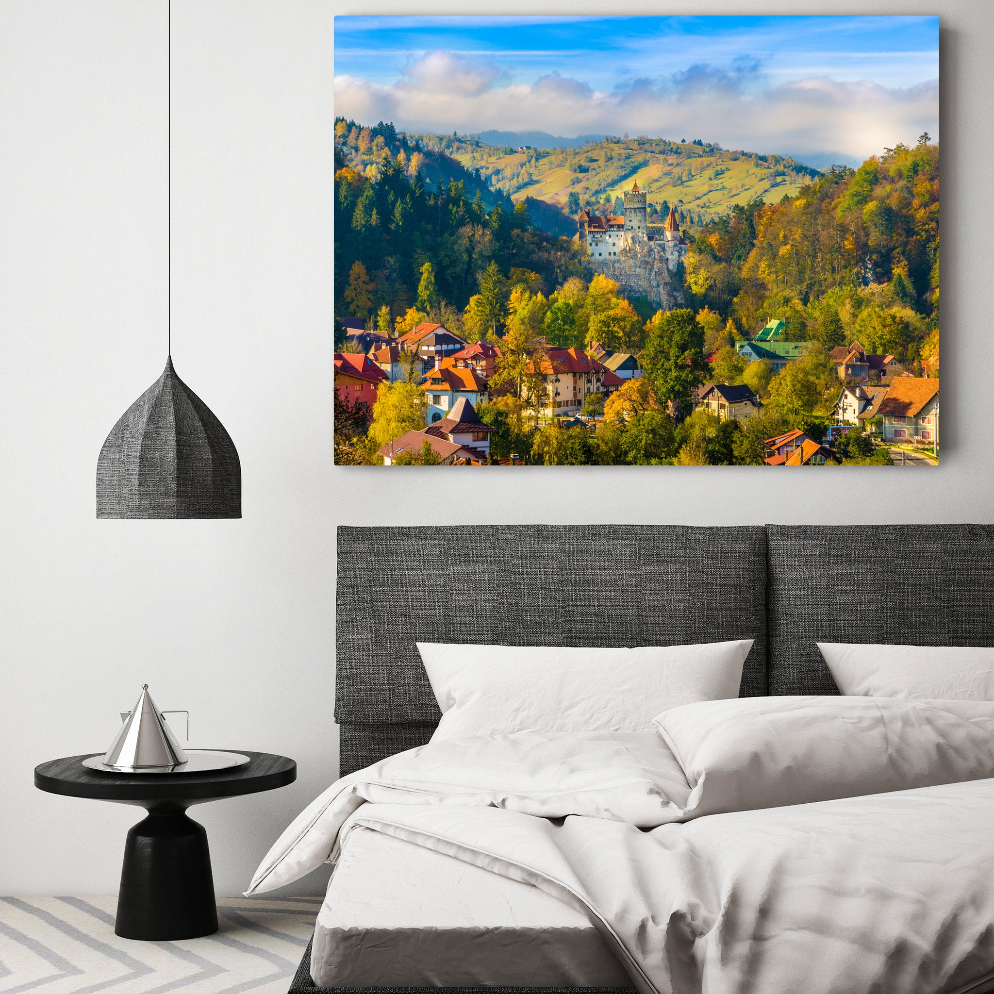 Tablou Canvas - Romanian Village - Tablomag