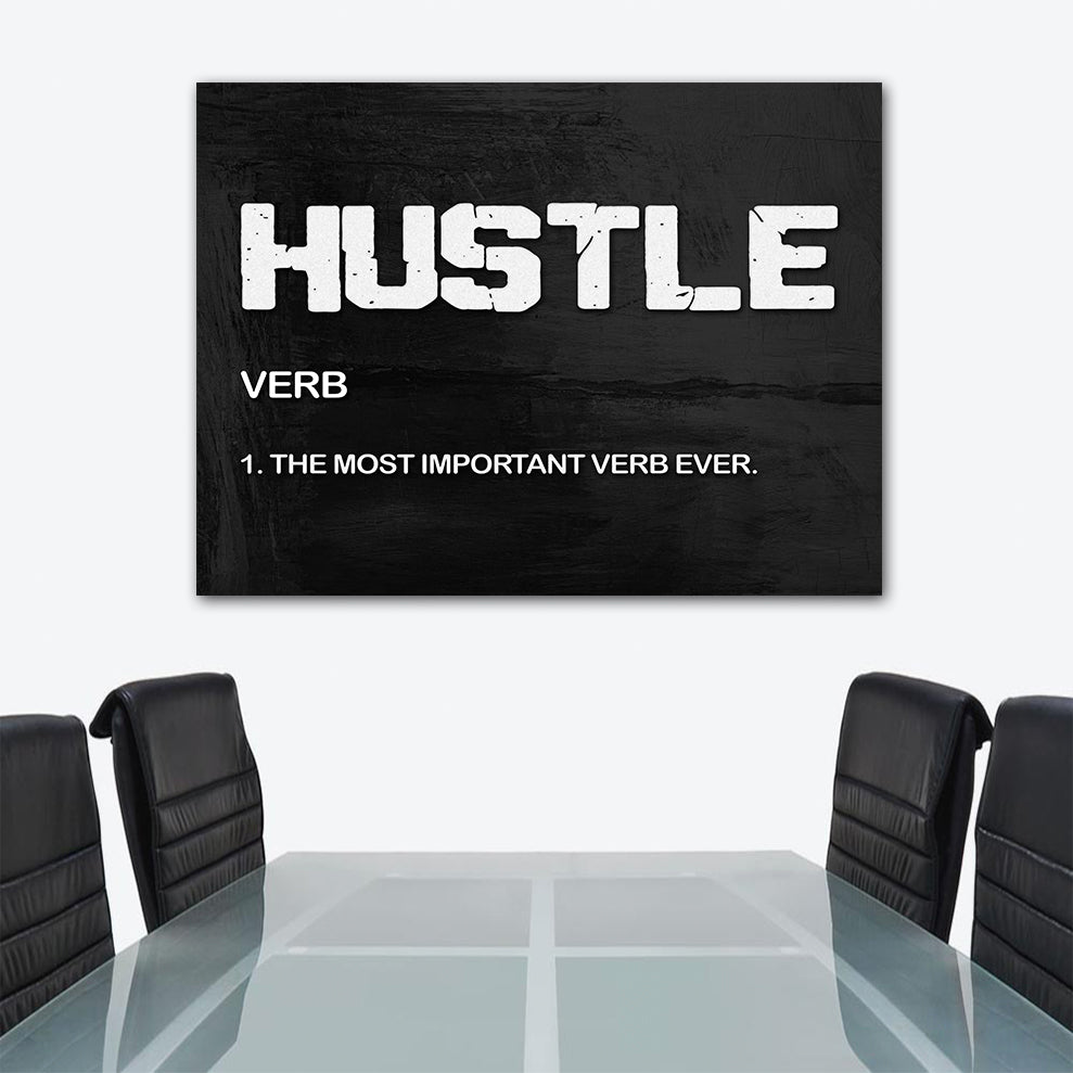 Hustle Verb