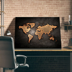 Tablou Canvas - [One Time Deal] World Map - Tablomag