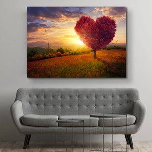 Tablou Canvas - [One Time Deal] The Pink Tree - Tablomag