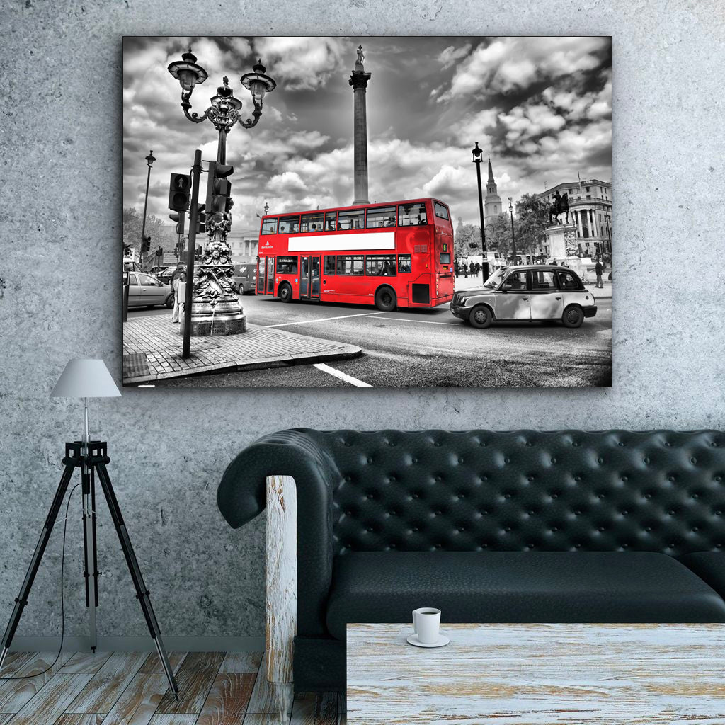 Tablou Canvas - [One Time Deal] London Bus - Tablomag