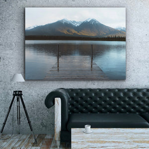 Tablou Canvas - The Quiet Lake - Tablomag