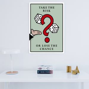 Tablou Canvas - Take the Risk - Tablomag