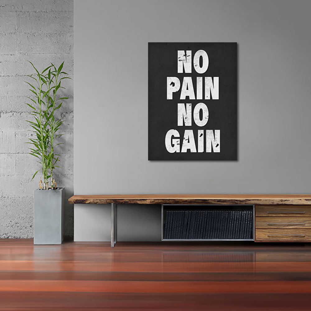 Tablou Canvas - No Pain No Gain - Tablomag