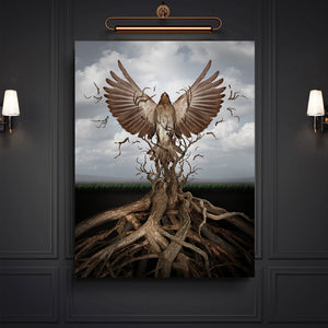Tablou Canvas - [One Time Deal] Deep Roots - Tablomag