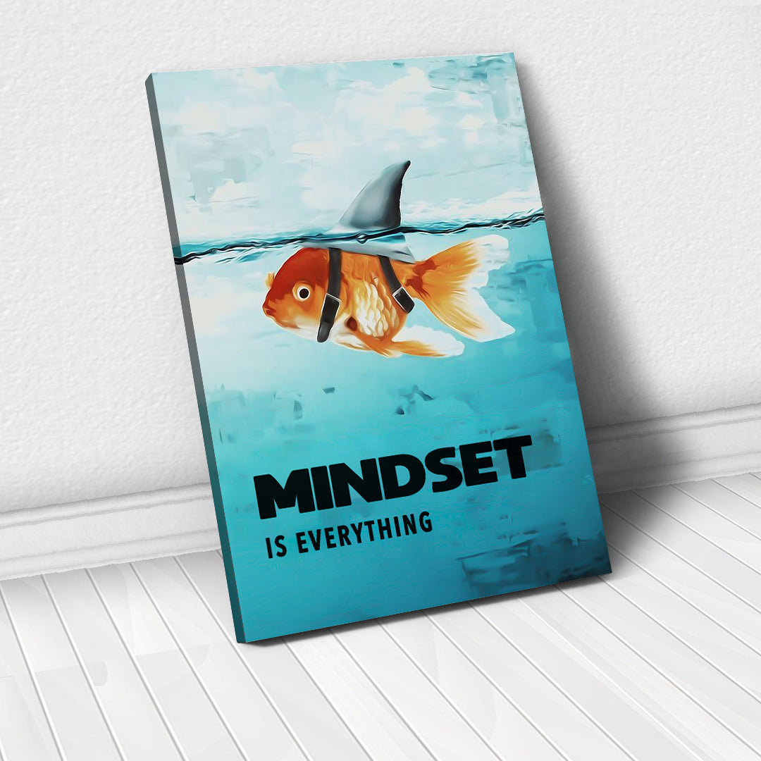 Tablou Canvas - [One Time Deal] Mindset Is Everything - Tablomag