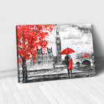 Tablou Canvas - Couple in London - Tablomag