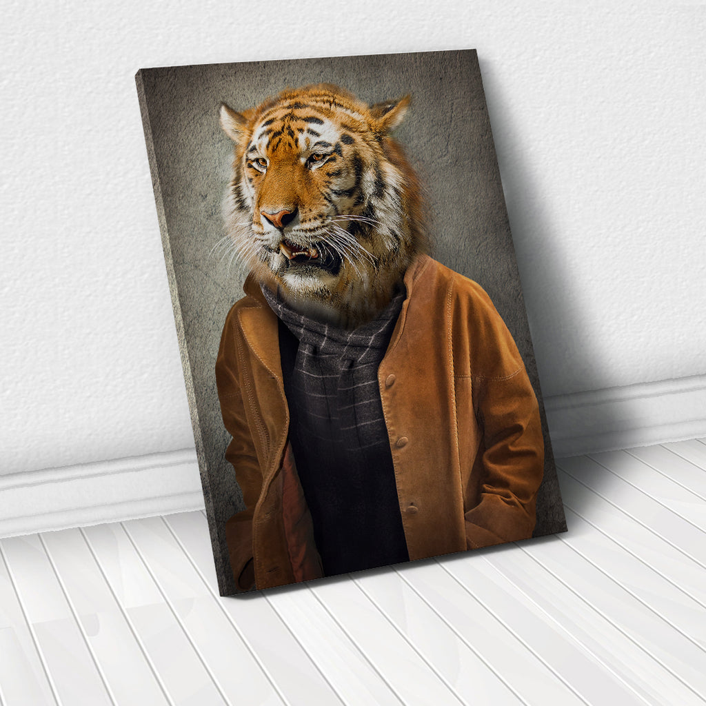 Tablou Canvas - Boho Tiger - Tablomag