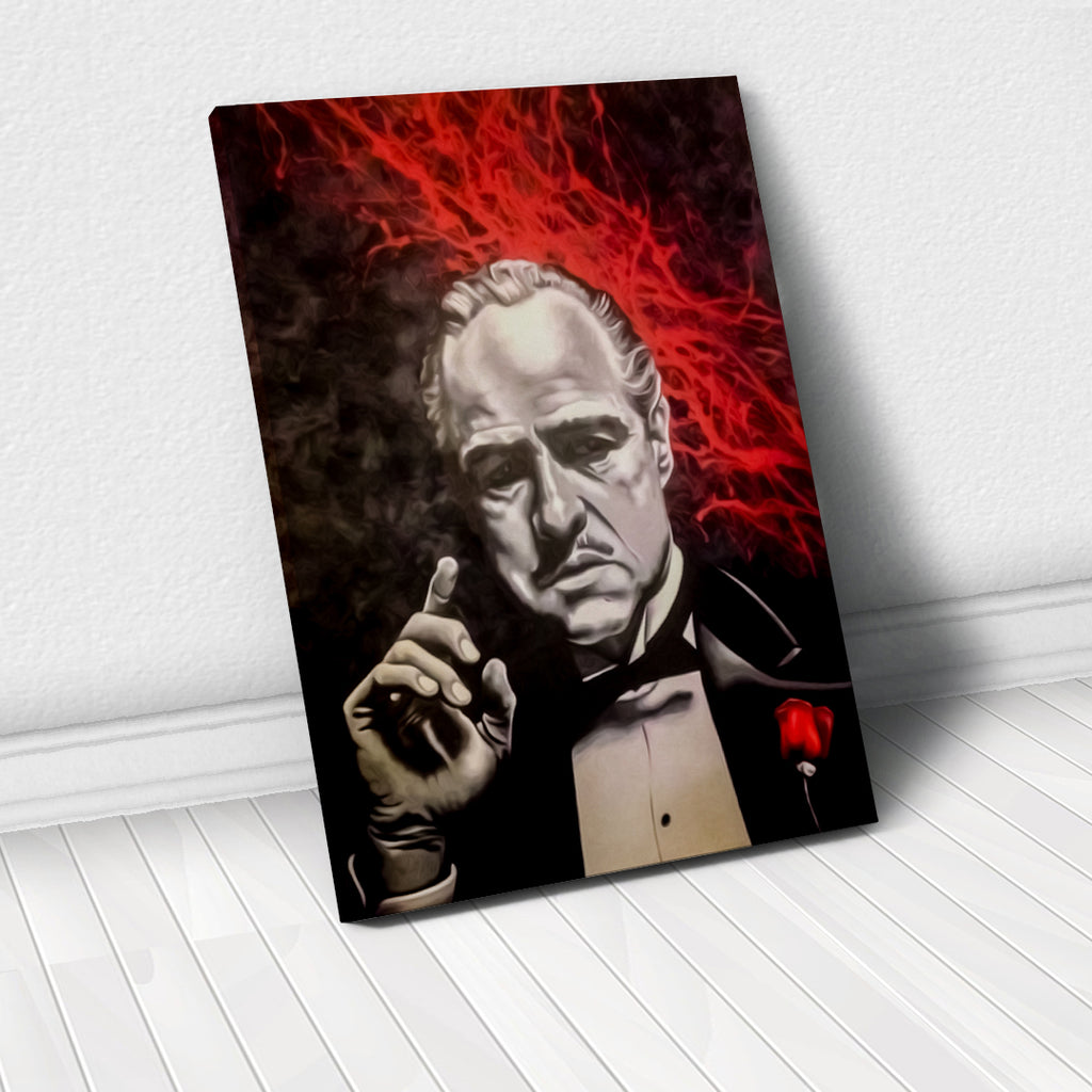 Tablou Canvas - [One Time Deal] Don Corleone - Tablomag