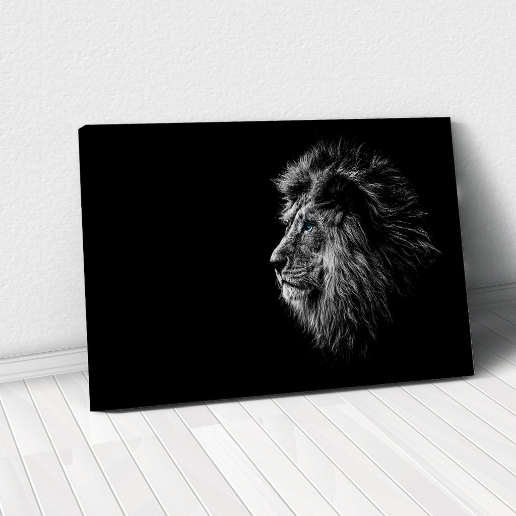 Tablou Canvas - Calm Lion - Tablomag
