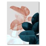 Tablou Canvas - Blush Pink Leaves - Tablomag