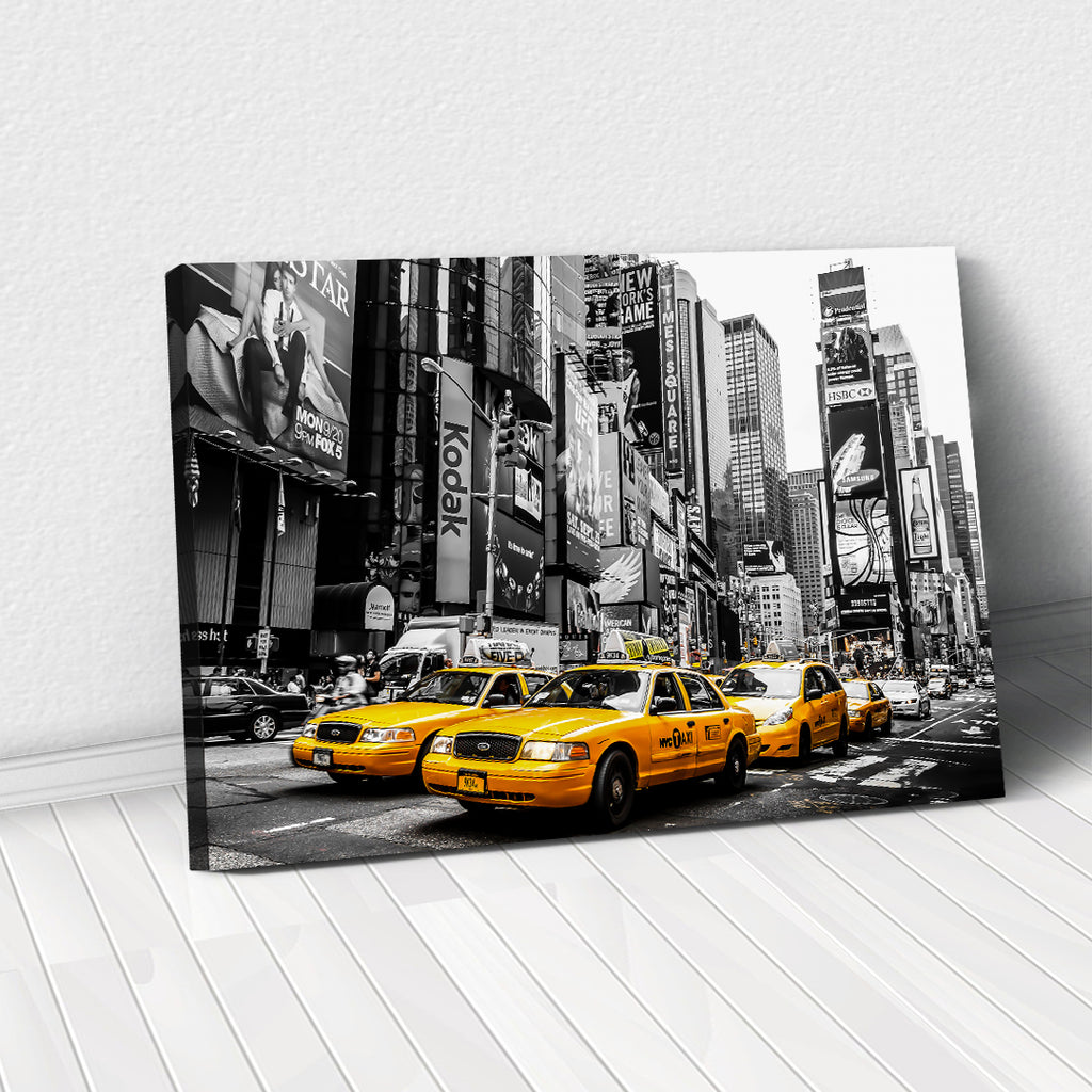 Tablou Canvas - New York Cabs - Tablomag