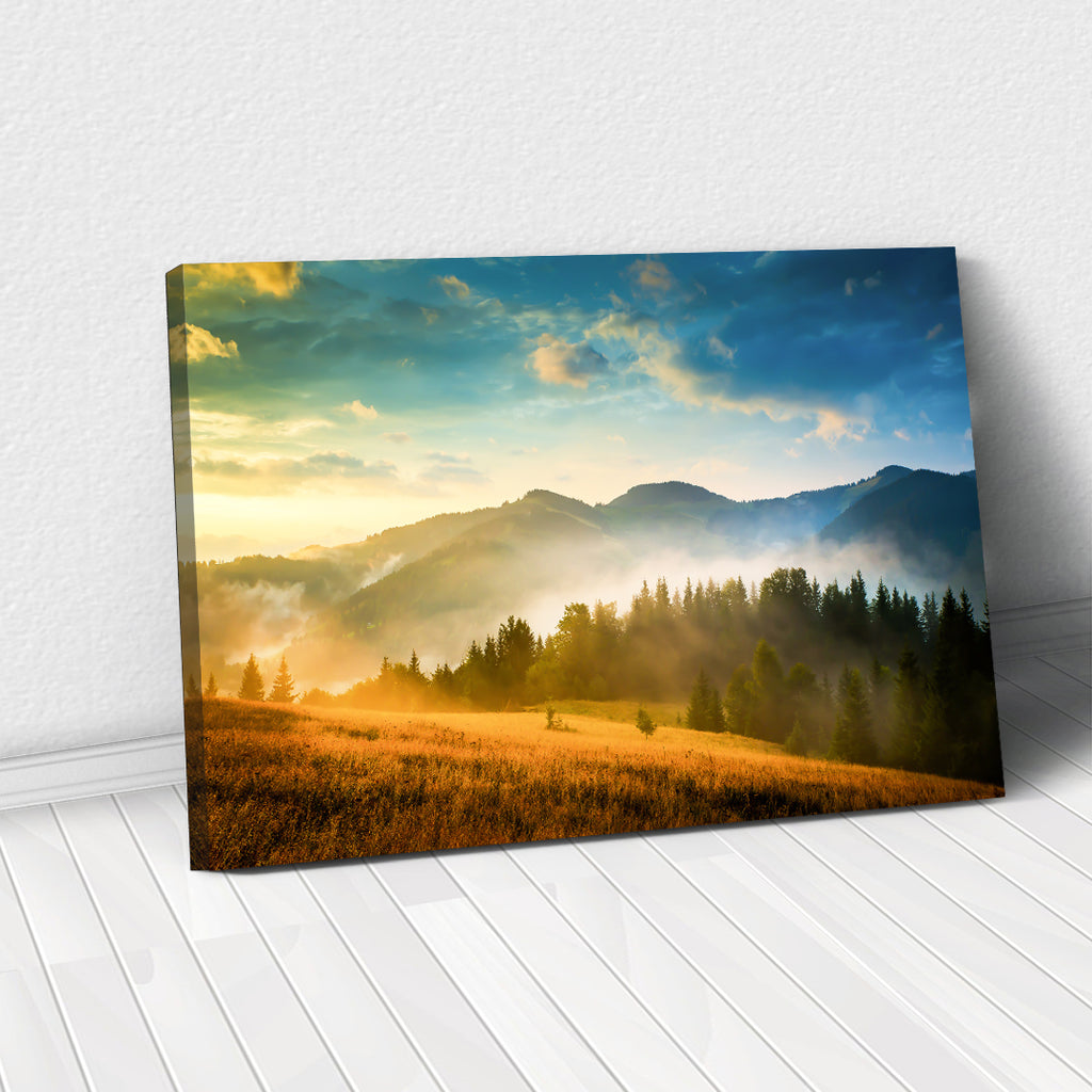 Tablou Canvas - Mountain View - Tablomag