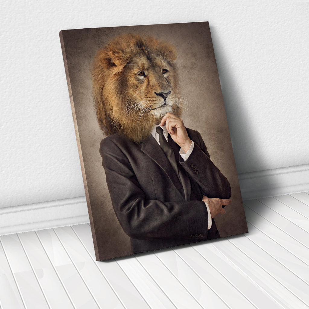 Tablou Canvas - Classic Lion - Tablomag
