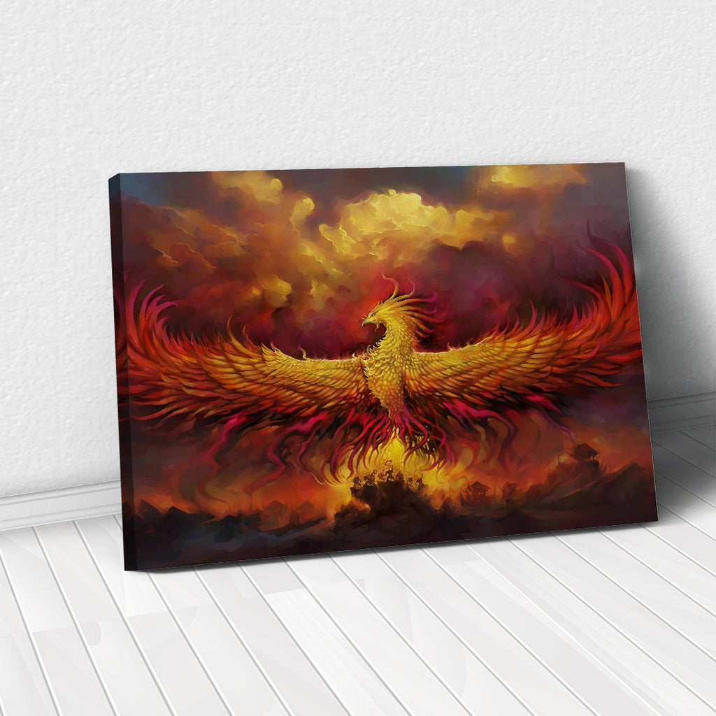 Tablou Canvas - [One Time Deal] Phoenix - Tablomag