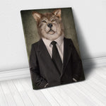 Tablou Canvas - Elegant Wolf - Tablomag