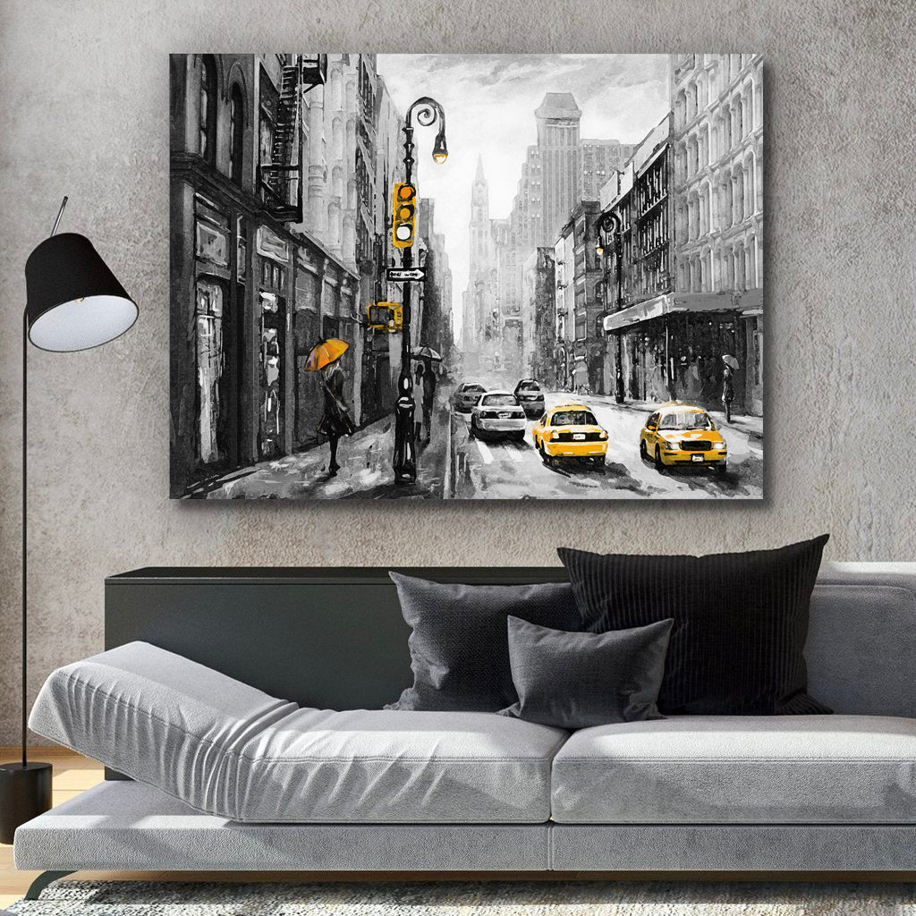 Tablou Canvas - Streets Of New York - Tablomag
