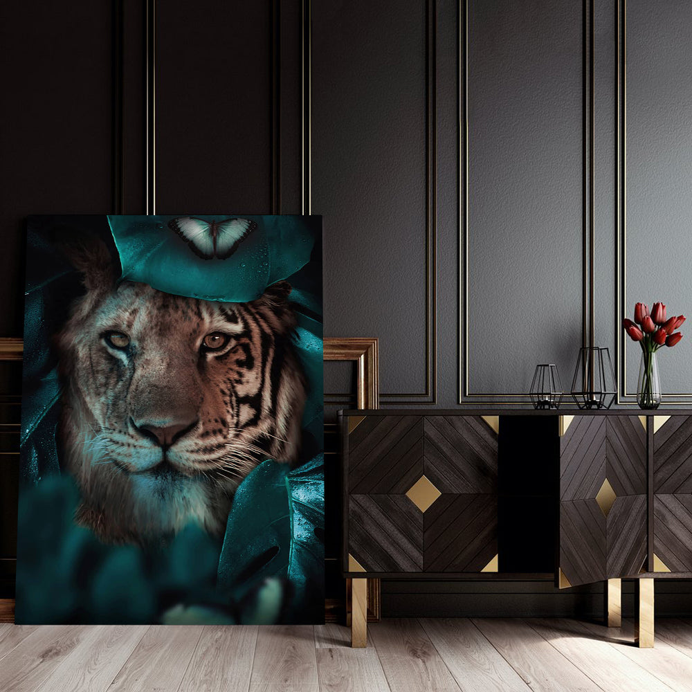 Tablou Canvas - Tiger Look - Tablomag