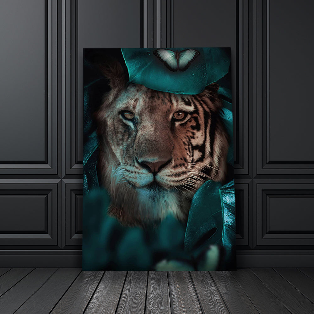 Tablou Canvas - [One Time Deal] Tiger Look - Tablomag