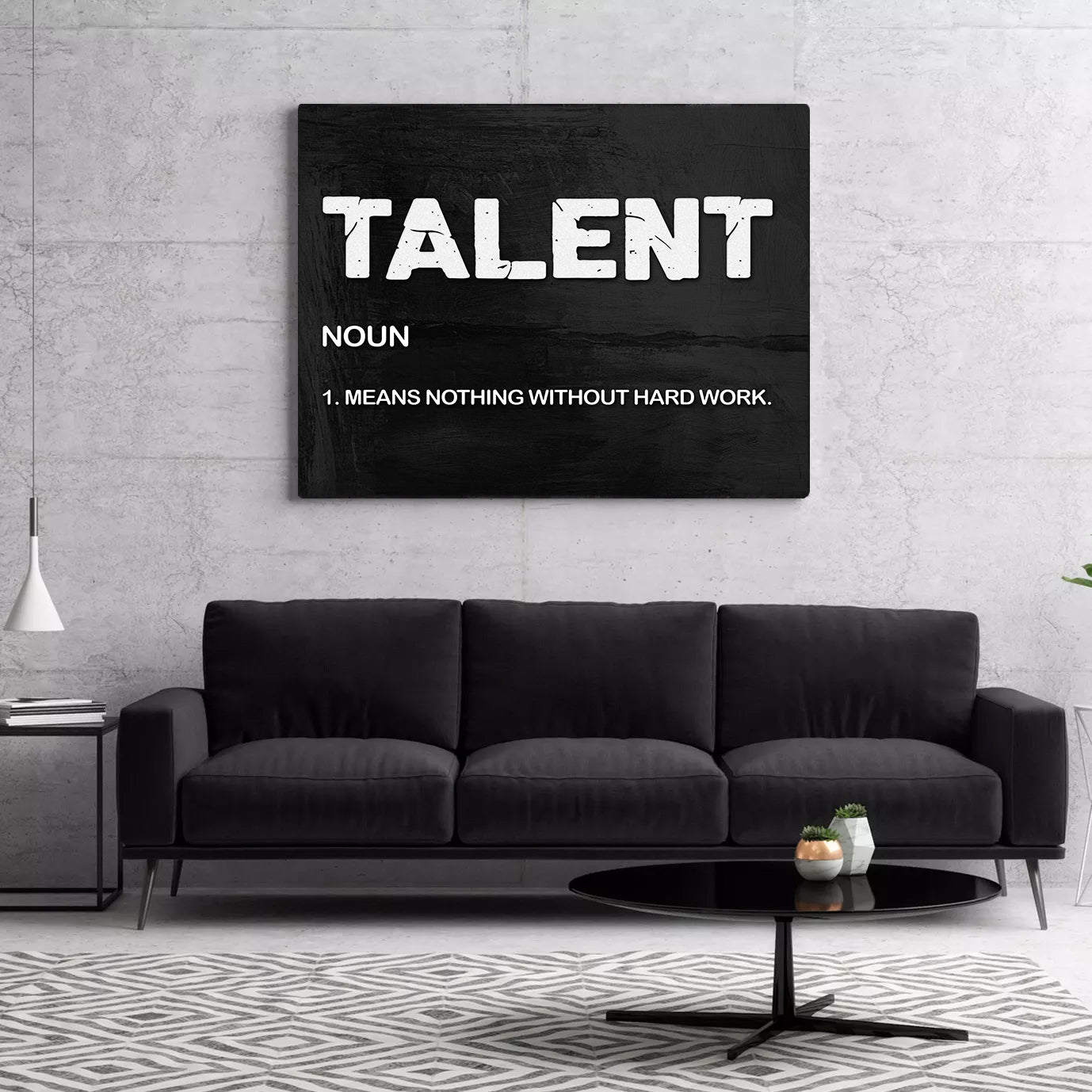 Tablou Canvas - Talent Noun - Tablomag