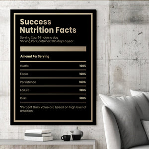 Success Nutrition Facts