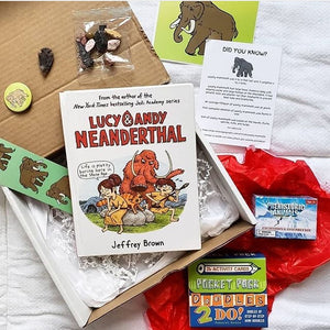 VIBookcrate Jr April 2019 Box - Stone Age Antics (Only a few left)
