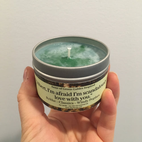 Anne of Green Gables Inspired Candles