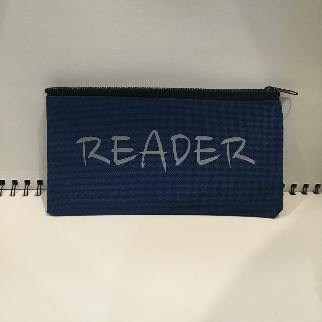 Reader Pouch - Blue