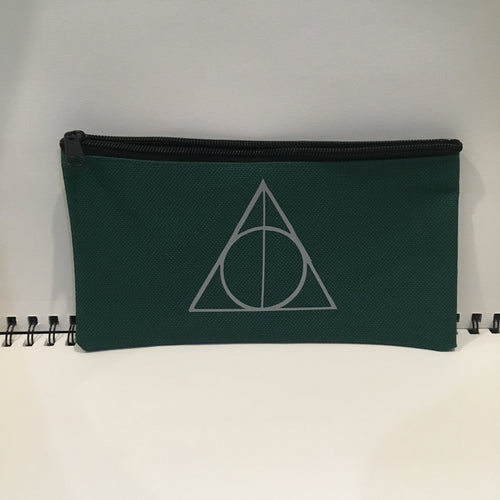 Silver Deathly Hallows Pouch
