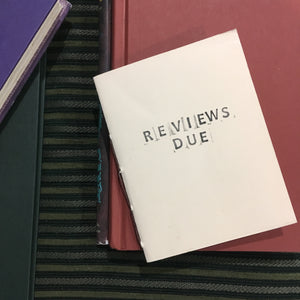 Book Reviews - Library Card Style