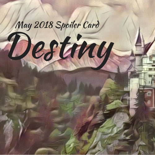 VIBookcrate JR May 2018 Box - Destiny