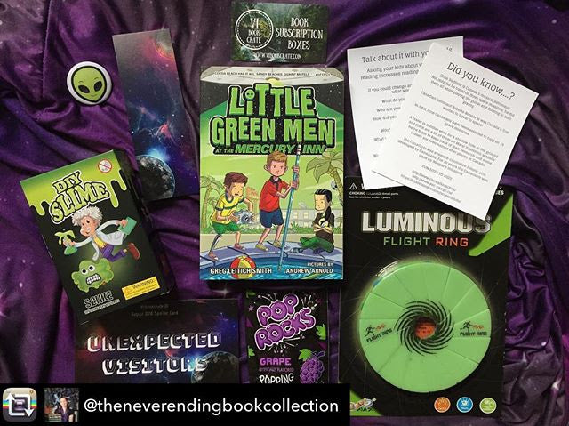 VIBookcrate Jr AUGUST 2018 Box - Unexpected Visitors